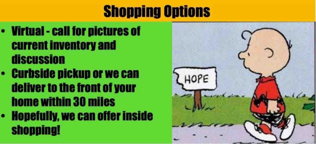 shopping options