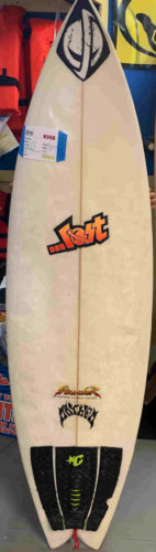 Used lost surfboard