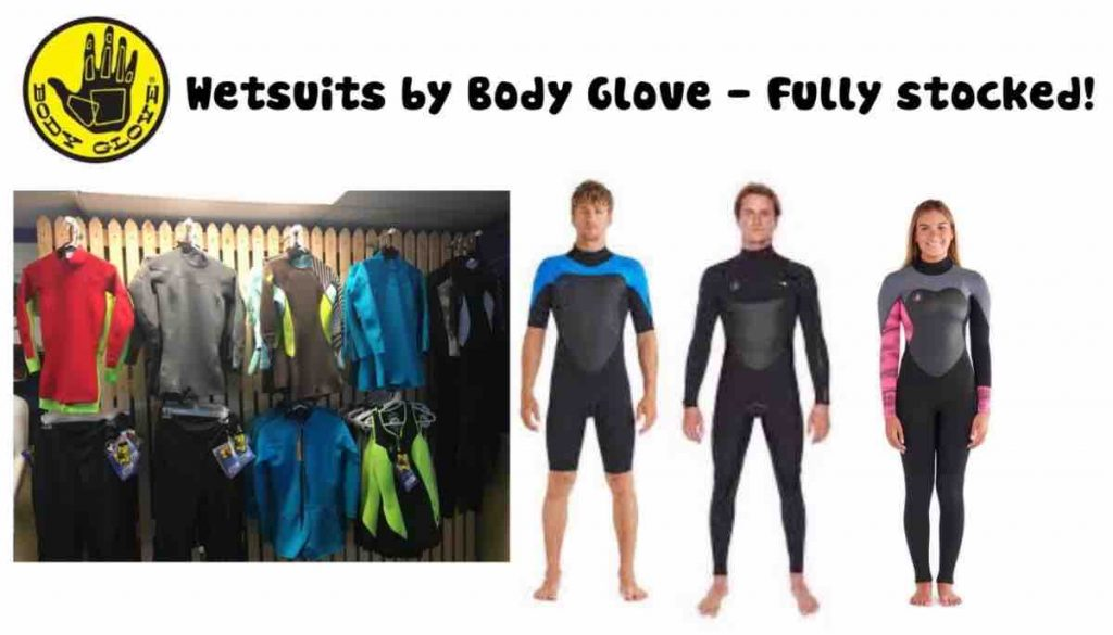 wetsuits by body glove