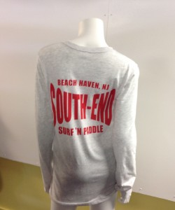 Long-sleeve South End t-shirt, $22