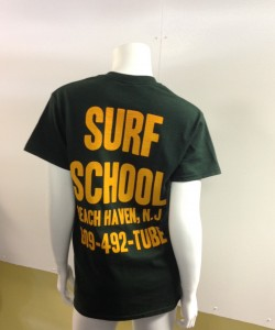 Surf School t-shirt $22