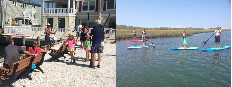 SUP Lessons Beach Haven LBI