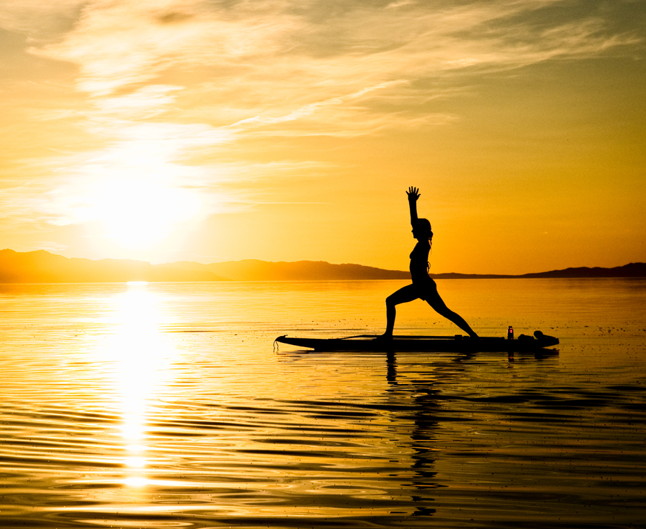 Floating Sup Yoga Classes On Lbi