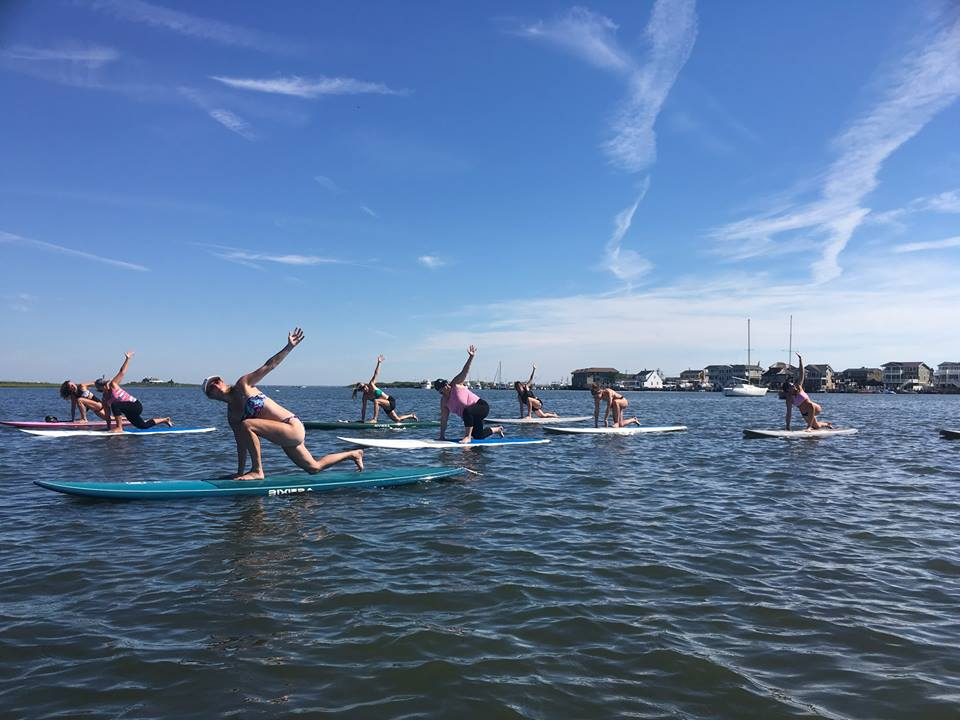 SUP Yoga @ South End Surf 'N Paddle   Beach Haven   New Jersey   United States
