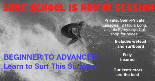 surf lessons going on now