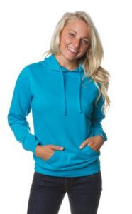 Womens Lightweight Pullover Hooded Sweatshirt