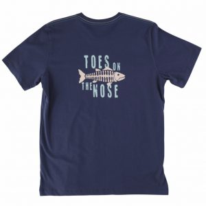 Toes on the Nose Mens Fishbone T-shirt