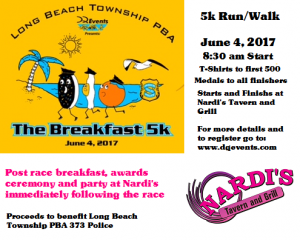PBA Breakfast 5K @ Nardi's | Long Beach Township | New Jersey | United States