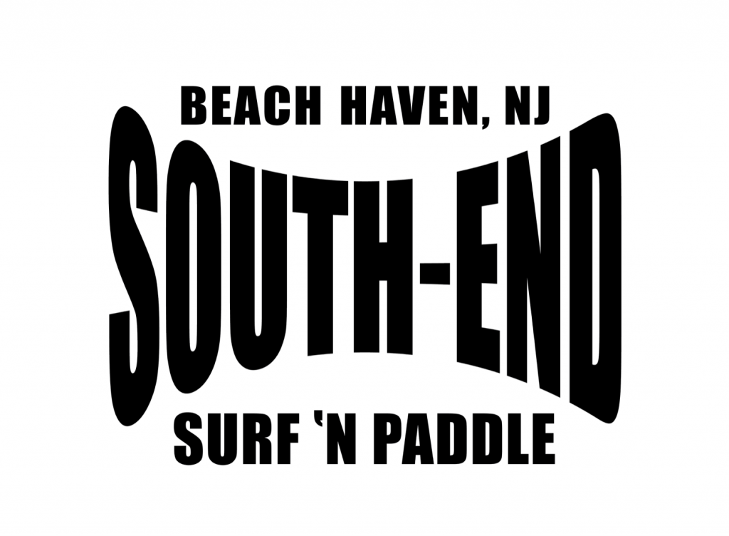 south end surf n paddle logo