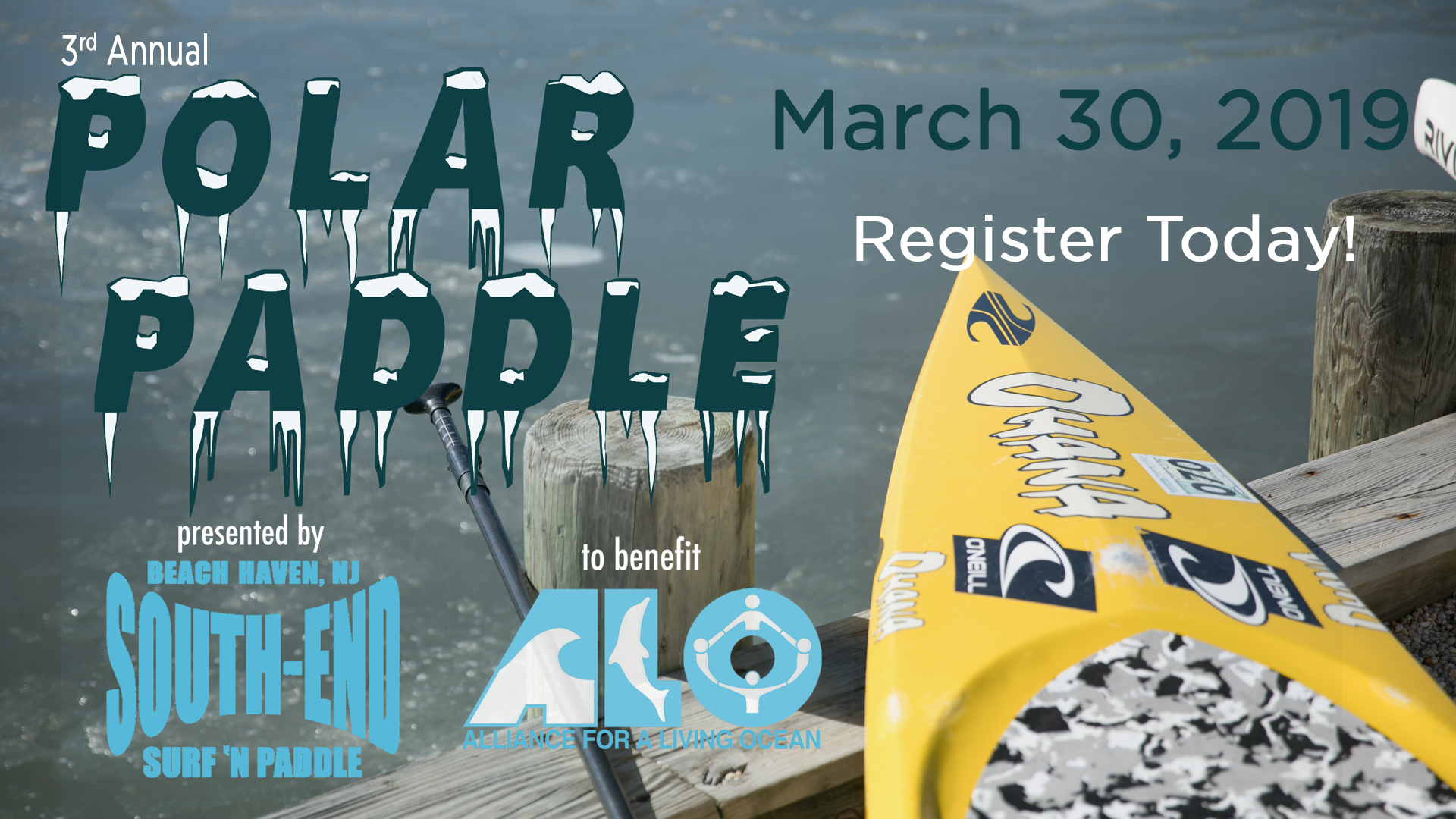 """Polar Paddle 2019 @ """"End of Pearl Street at the Bay""""   Beach Haven   New Jersey   United States"""