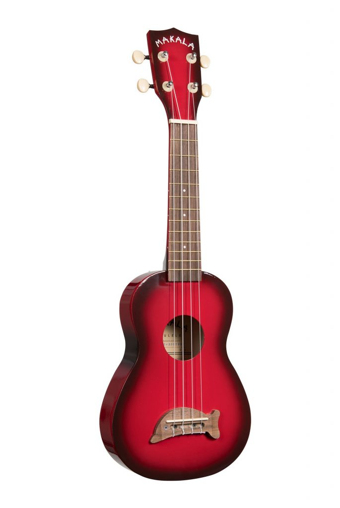 Makala Red Burst Ukulele