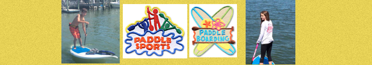 Girl Scout and Boy Scout fun patches
