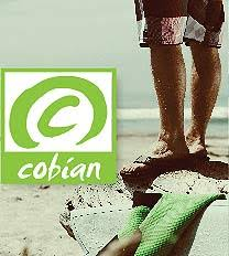 Cobian Sandals logo