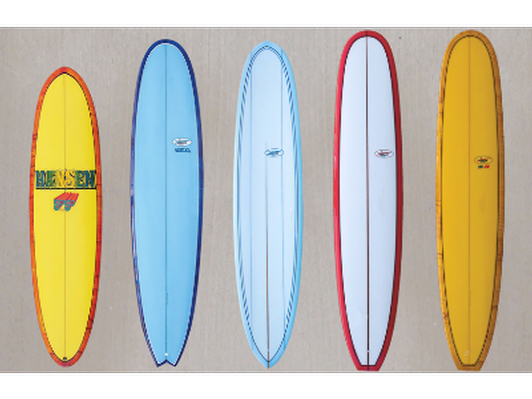 We have a wide inventory of Hansen Surfboards.