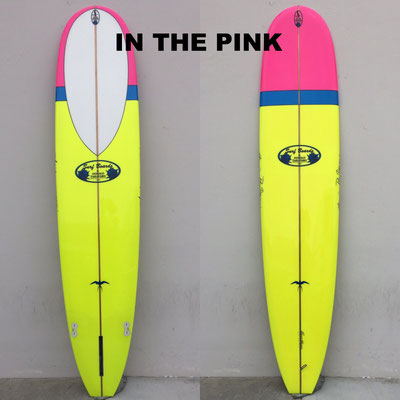 Takayama Surfboard In the Pink