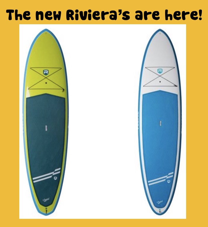 The new Riviera Paddlesurf SUPs are here