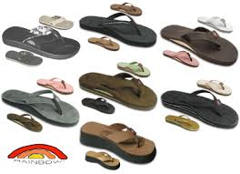 Rainbow Sandals selection