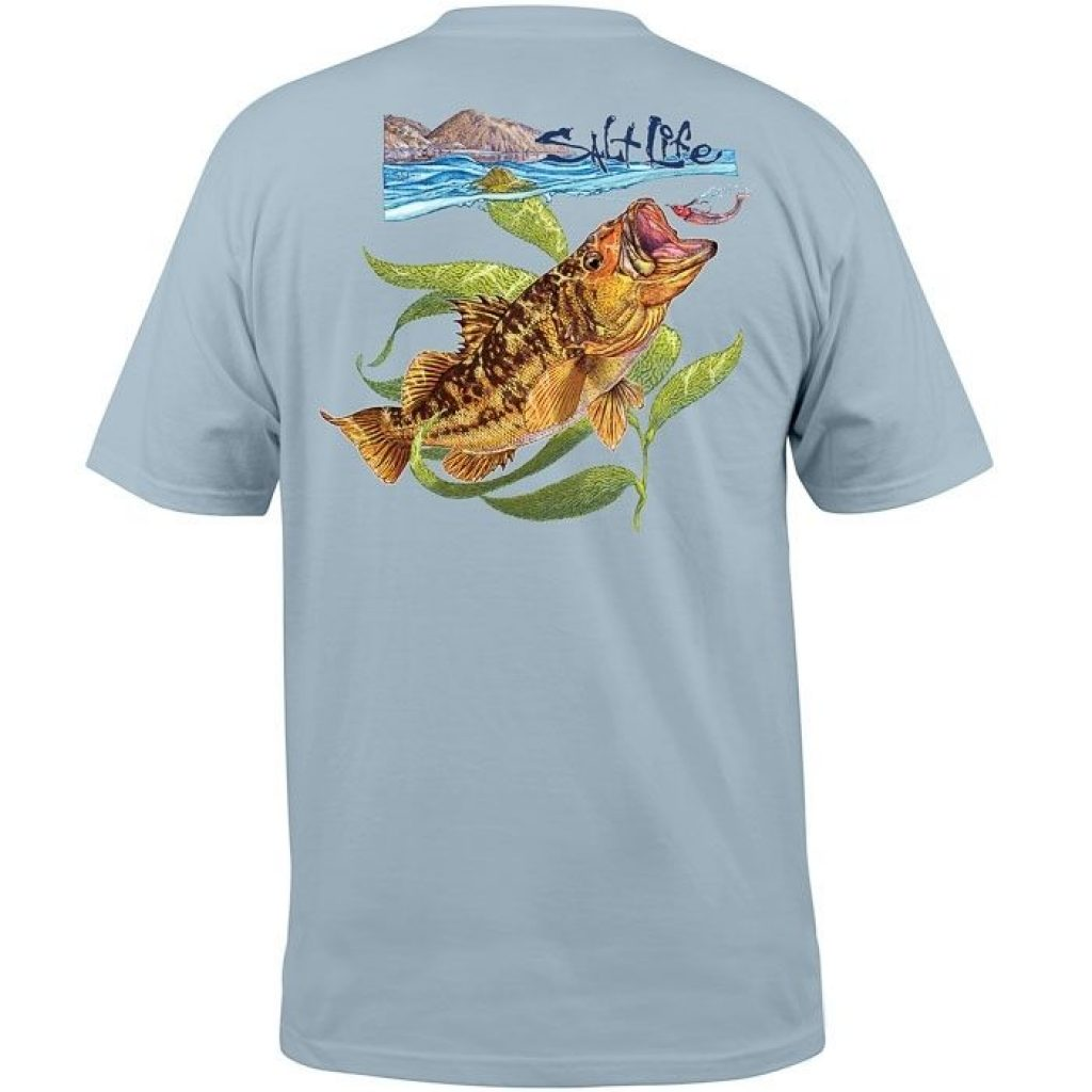 Salt Life Calico Bass Pocket Tee