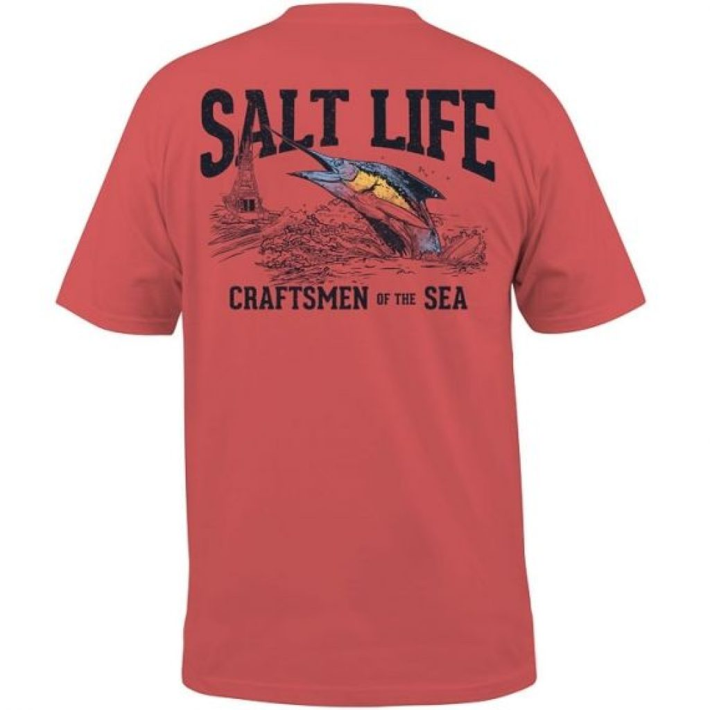 Salt Life Craftsmen of the Sea Pocket Tee
