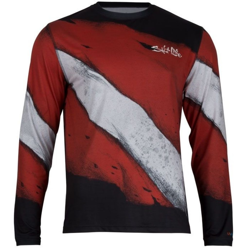 Salt Life Dive Deep Performance Long Sleeve Tee