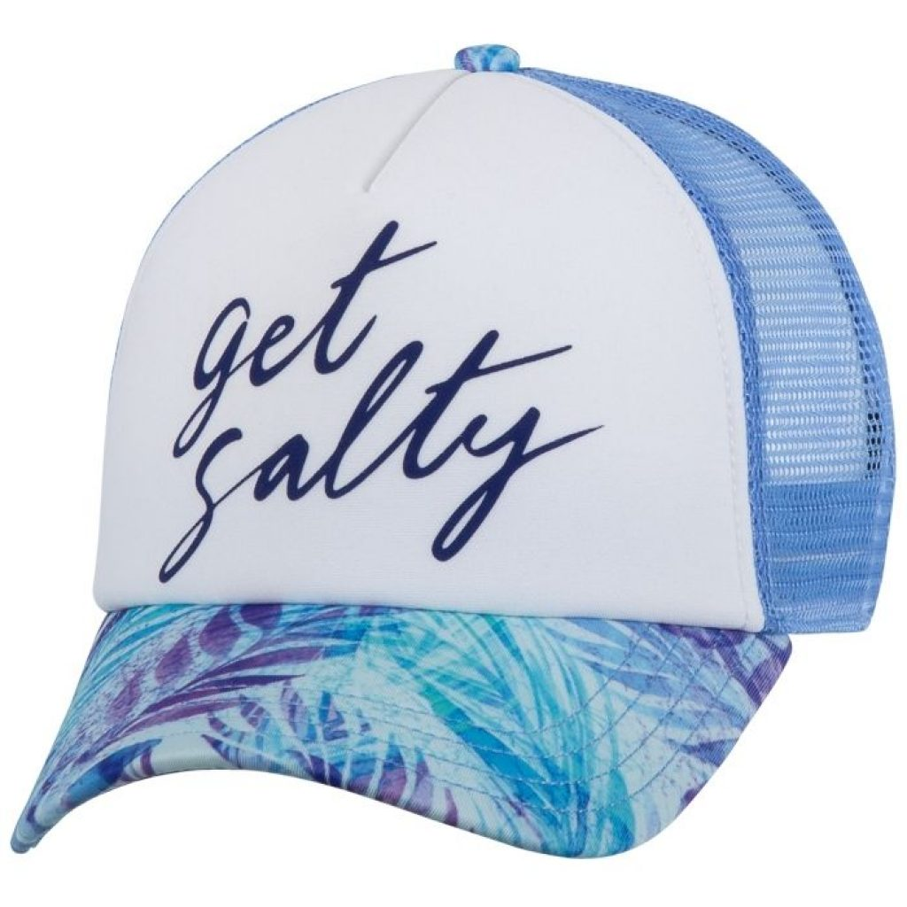 Salt Life Get Salty Ladies Trucker Mesh Hat