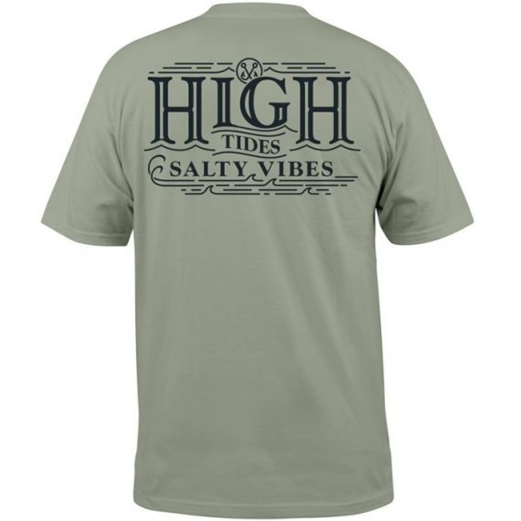 High Tides Salty Vibes Tee