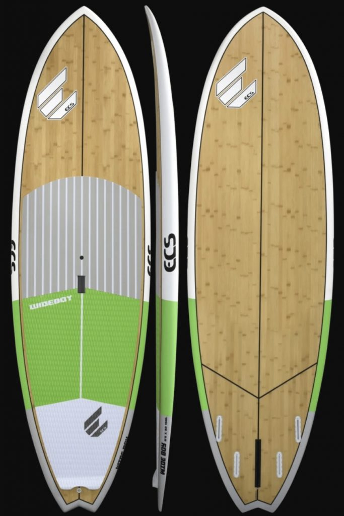 ECS Boards Wide Boy green