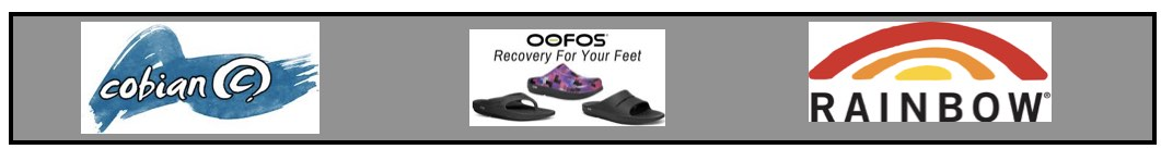 footwear oofos cobian rainbow sandals