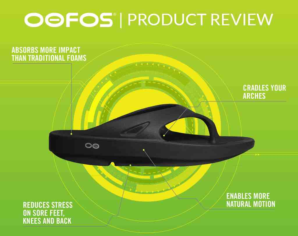 Oofos product review