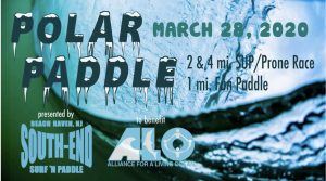 """Polar Paddle 2020 @ """"End of Pearl Street at the Bay"""" 